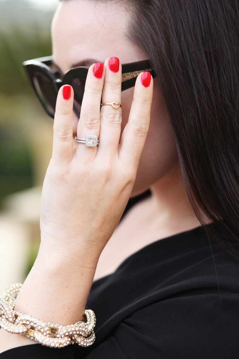 essie-red-nail-polish-pave-link-bracelet-heart-midi-ring-karen-walker-northern-lights-sunglasses-king-and-kind-style-blog-san-diego