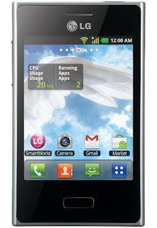 Spesifikasi LG Optimus L3, Harga LG Optimus L3, android murah 2012,