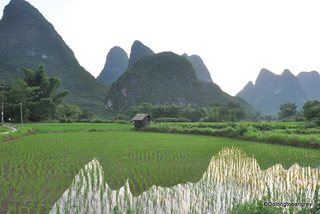 Aishanmen village, Yangshou, China