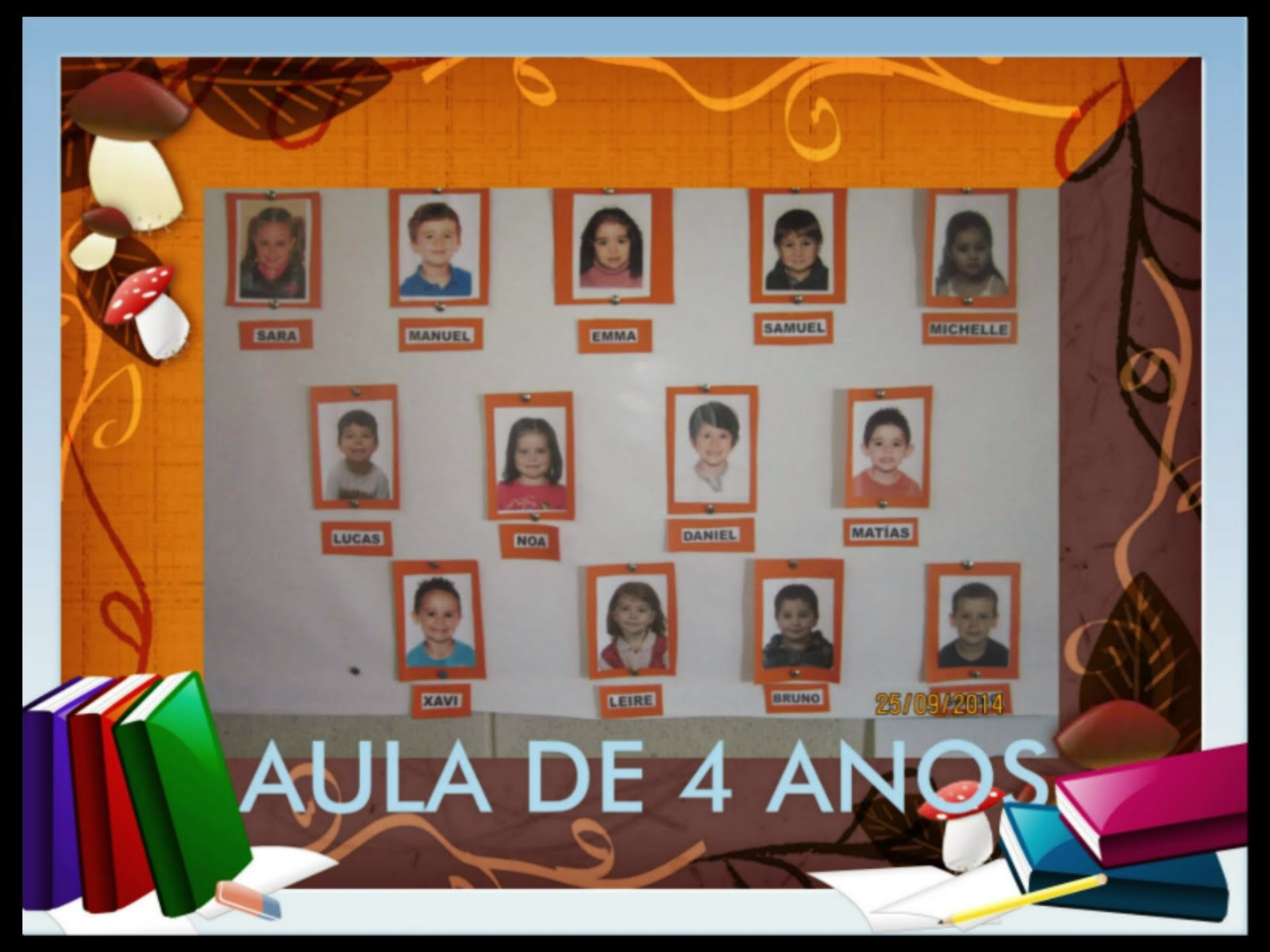 AULA DE 4 ANOS