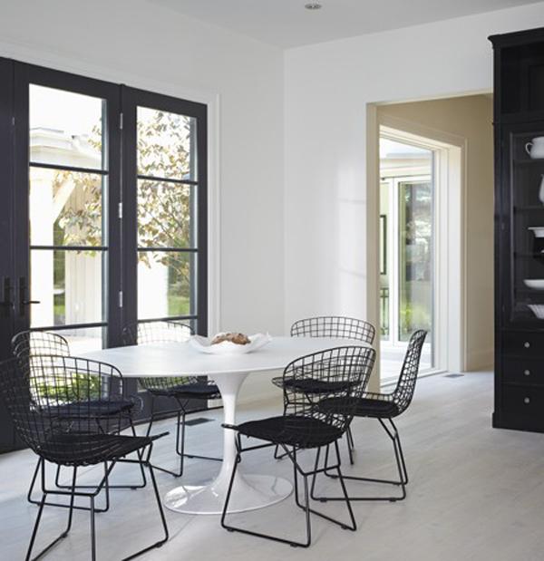 Black eiffel modern farmhouse for Modern french farmhouse