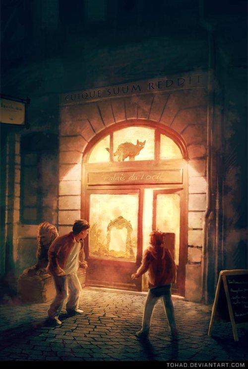 Sylvain Sarrailh tohad deviantart ilustrações fantasia ficção científica