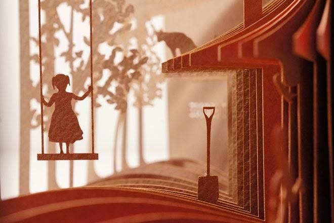 Artista diseña libros que te muestran historias visuales en 360°