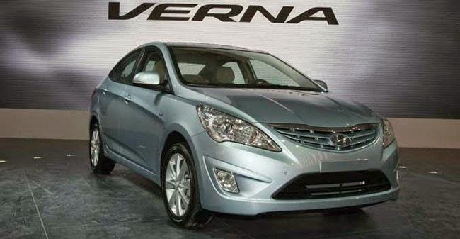 New Hyundai Verna 2015