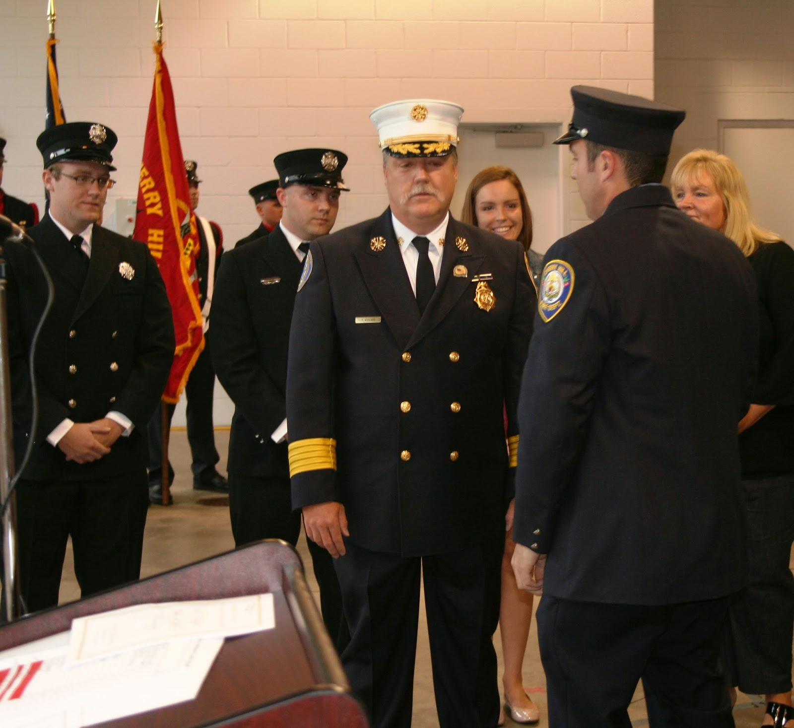 Cherry Hill News Information Chief Thomas Kolbe takes Oath of – Oath of Office Template