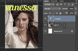 Cara Membuat Cover Majalah Menggunakan Adobe Photoshop 4