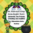 http://www.teacherspayteachers.com/Product/St-Patricks-Day-Math-Scavenger-Hunt-Numerals-Ten-Frames-Counting-Cardinality-1150725