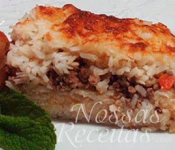 deliciosa receita de empadão de arroz