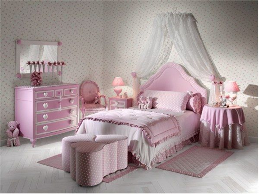 Pretty Rooms For Girl 30 traditional young girls bedroom ideas | room design inspirations