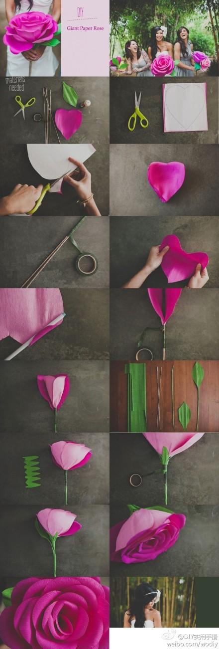 Прекрасные розы из бумаги своими руками - Игрушки 67