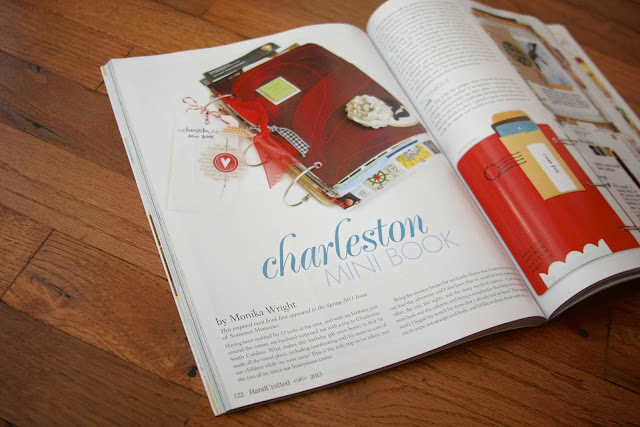 Charleston Mini Album | iloveitallwithmonikawright.com
