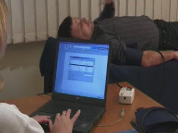 ワイヤレス テンシオメド血管オンライン解析計