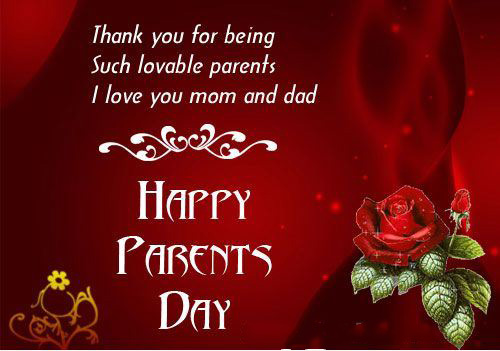 National Parents Day Message Wishes
