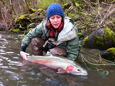 Oregon fly fishing report by larimer outfitters the for Hood river fishing