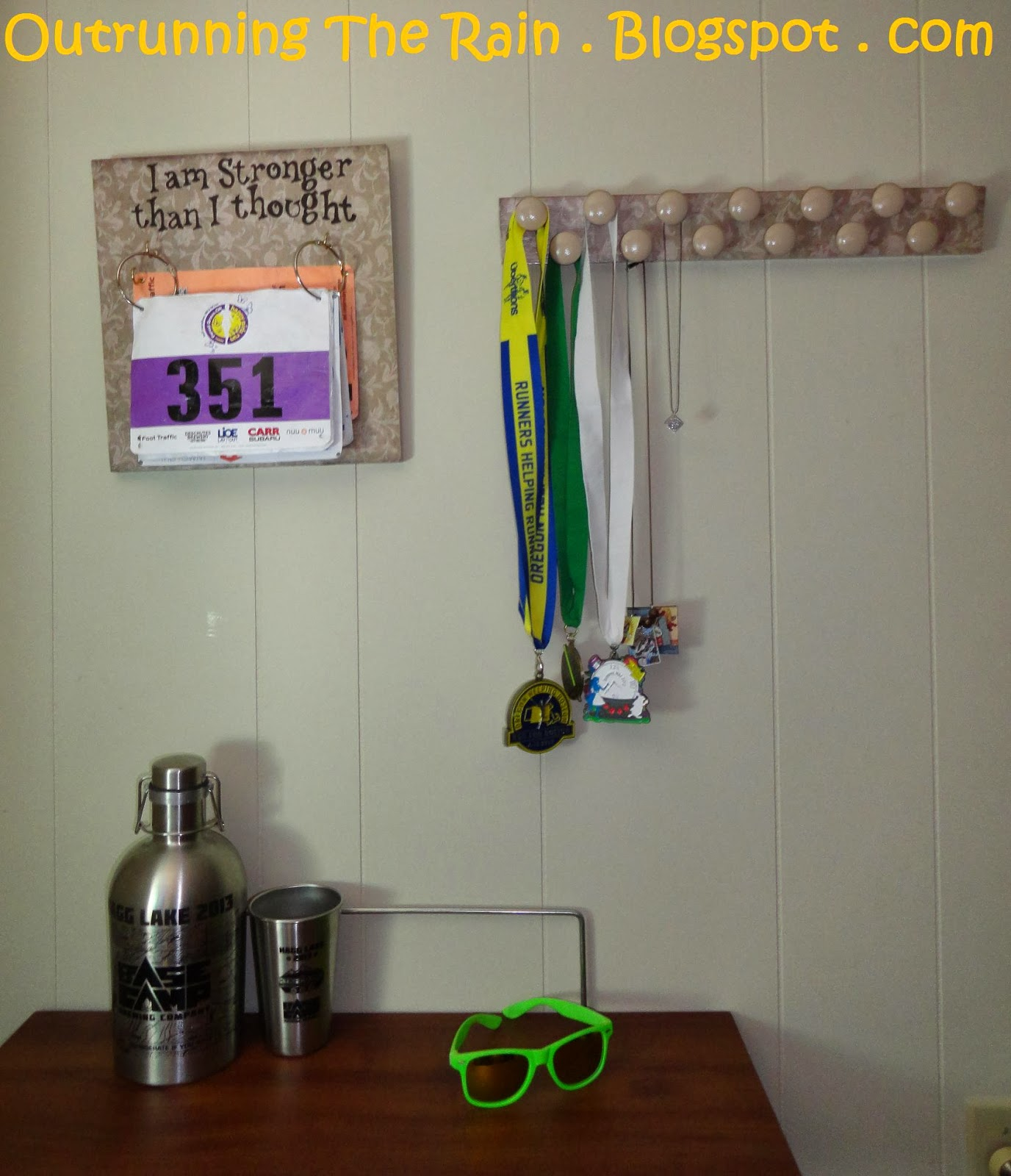 bib unique achievement hanging home with board accessories pushka decor medal and shelf display wall copper personalised homeware ltd marathon rack personalisation