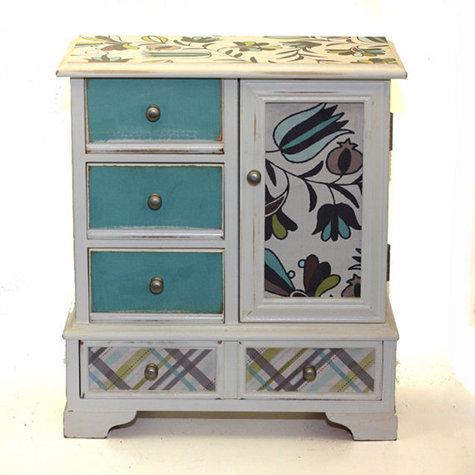Handmade Upcycled Jewelry Box