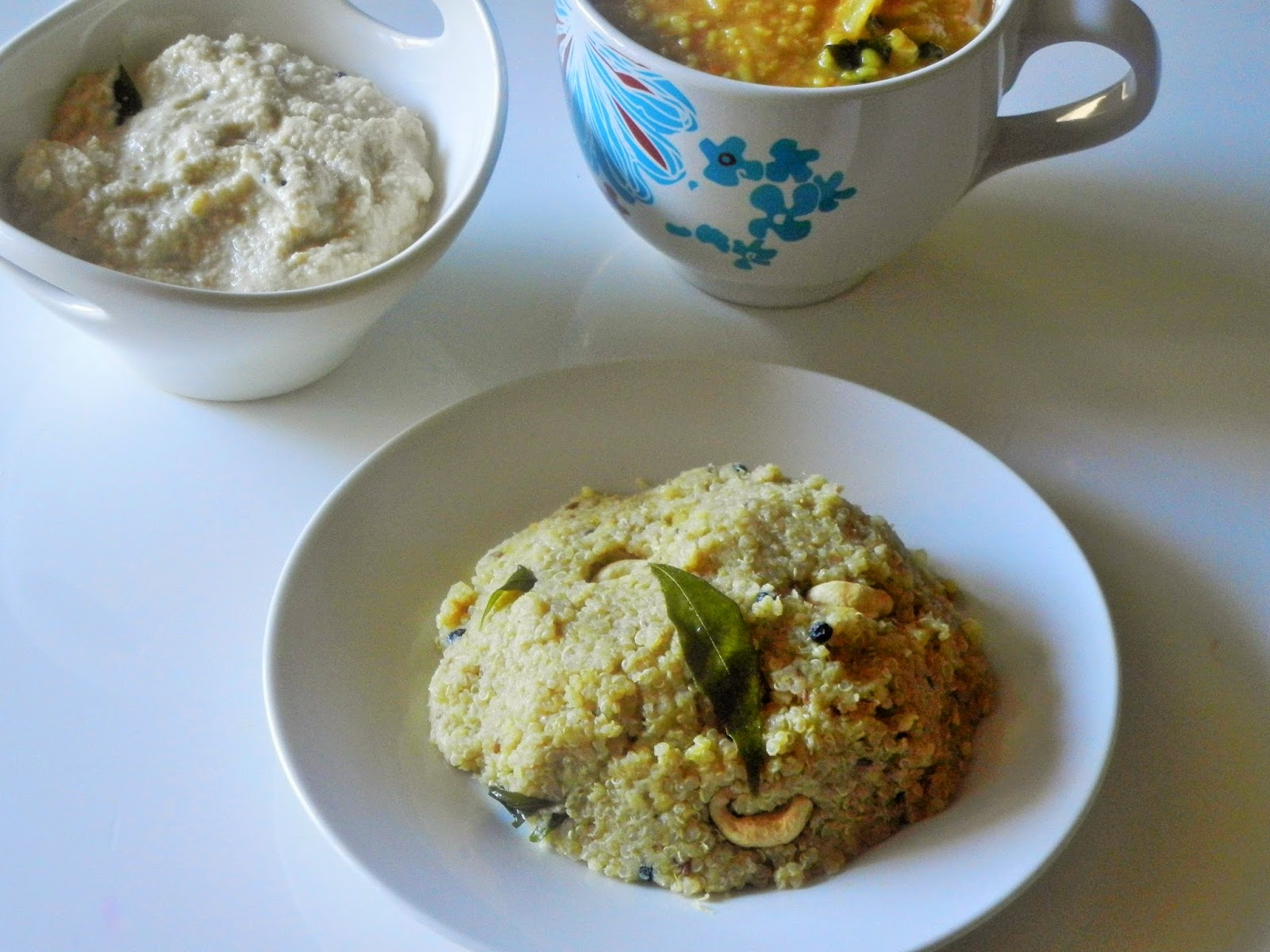 Gitas kitchen a blog for indian diabetic recipes and healthy quinoa kara pongal and some more pongal recipes forumfinder Images