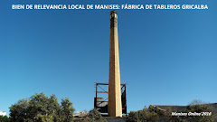 19.12.16 BIEN DE RELEVANCIA LOCAL DE MANISES: FÁBRICA DE TABLEROS GRICALBA, B.R.L.