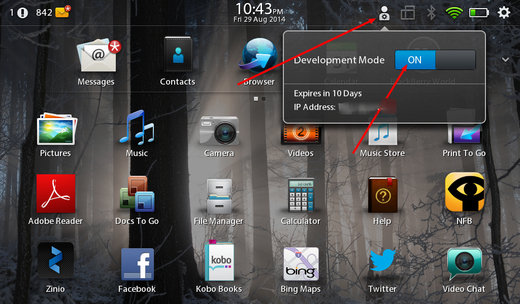 Can you download android apps on blackberry playbook