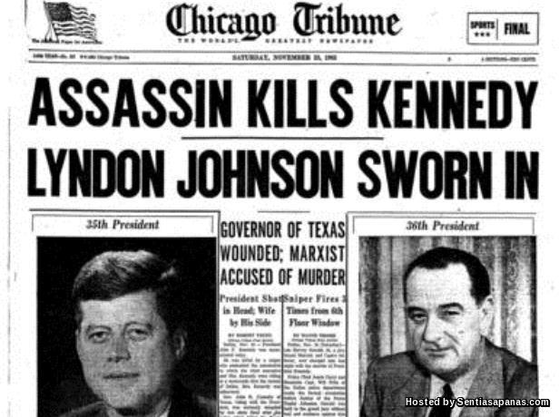 Kennedy Ditembak