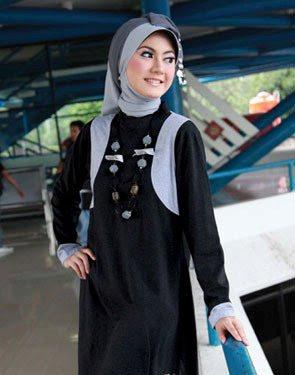 Model Baju Blus Muslim Zenitha 24 b