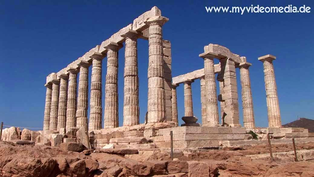 Temple of Poseidon - Kap Sounion