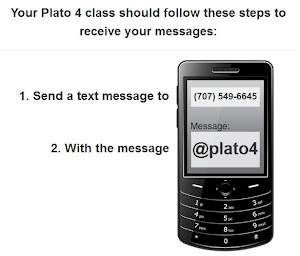 Want Texts from Mrs. Plato?