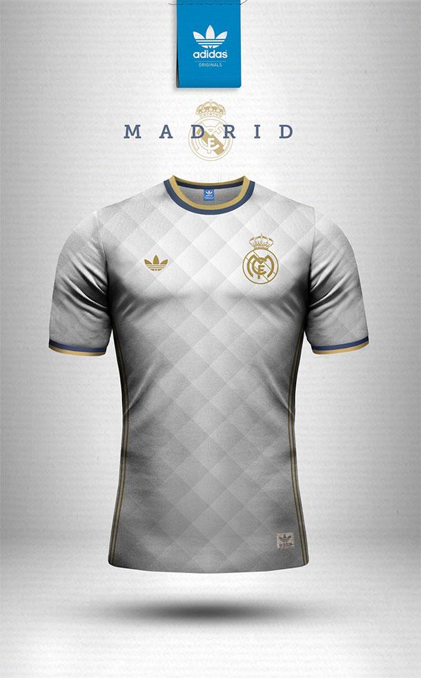 Designer cria modelos retrô para camisas de grandes clubes do mundo que ficaram incríveis