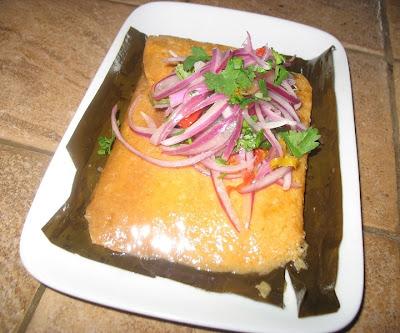 Receta de tamales - Comida criolla peruana
