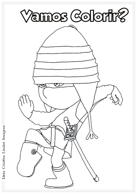 Desenho Meu Malvado Favorito 2 Edith para colorir