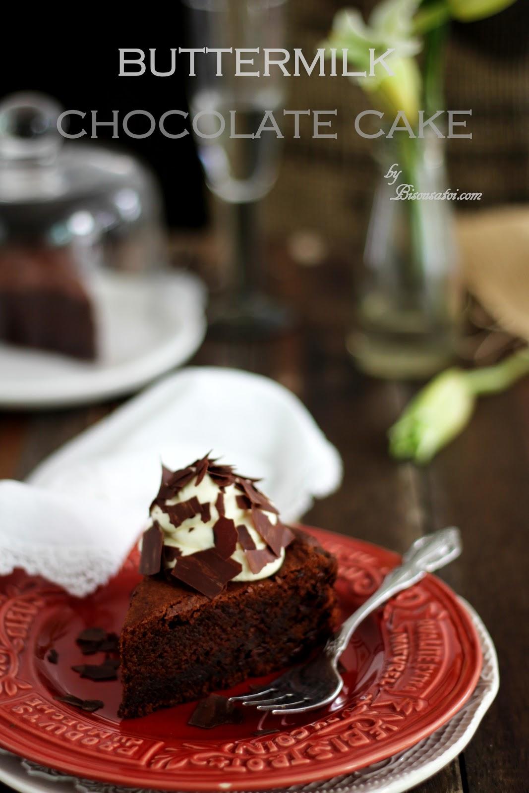 Tish Boyle Buttermilk Chocolate Cake