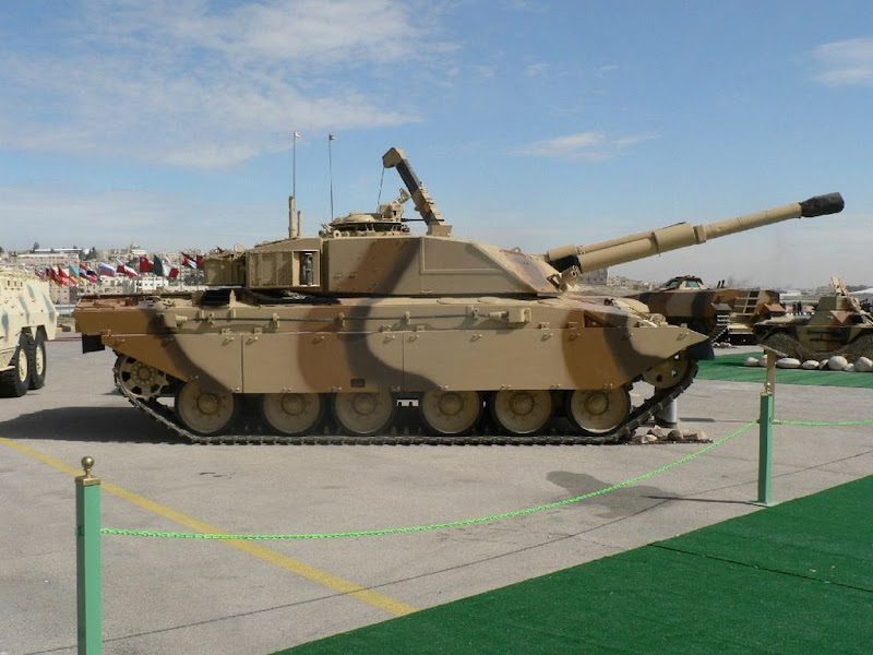 Challenger-1 British main Battle Tank