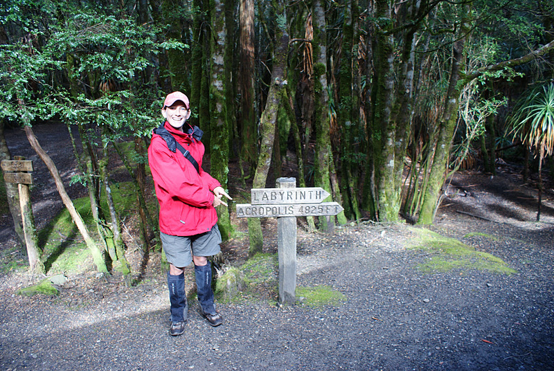 nele andrew around oz narcissus hut cradle mountain lake st  ready to climb the acropolis