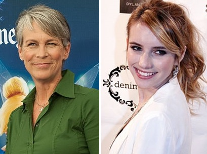 Pictures of Jamie Lee Curits and Emma Roberts