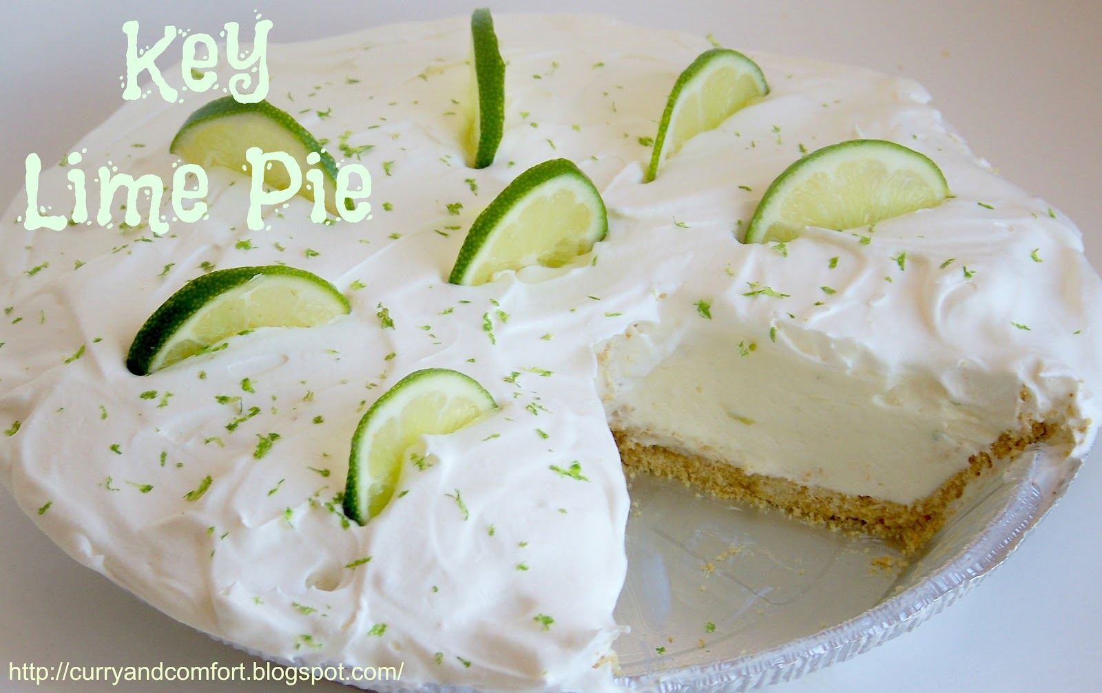 Curry and Comfort: Key Lime Pie- No Bake Version