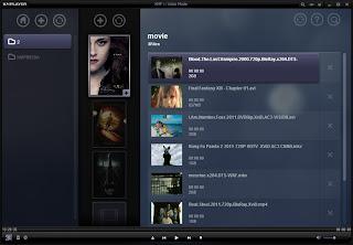KMPlayer film browsing screen shot