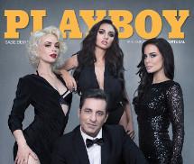 Kolesnikova, Ivanova, Elizabeth e Futre Playboy Portugal Outubro 2015