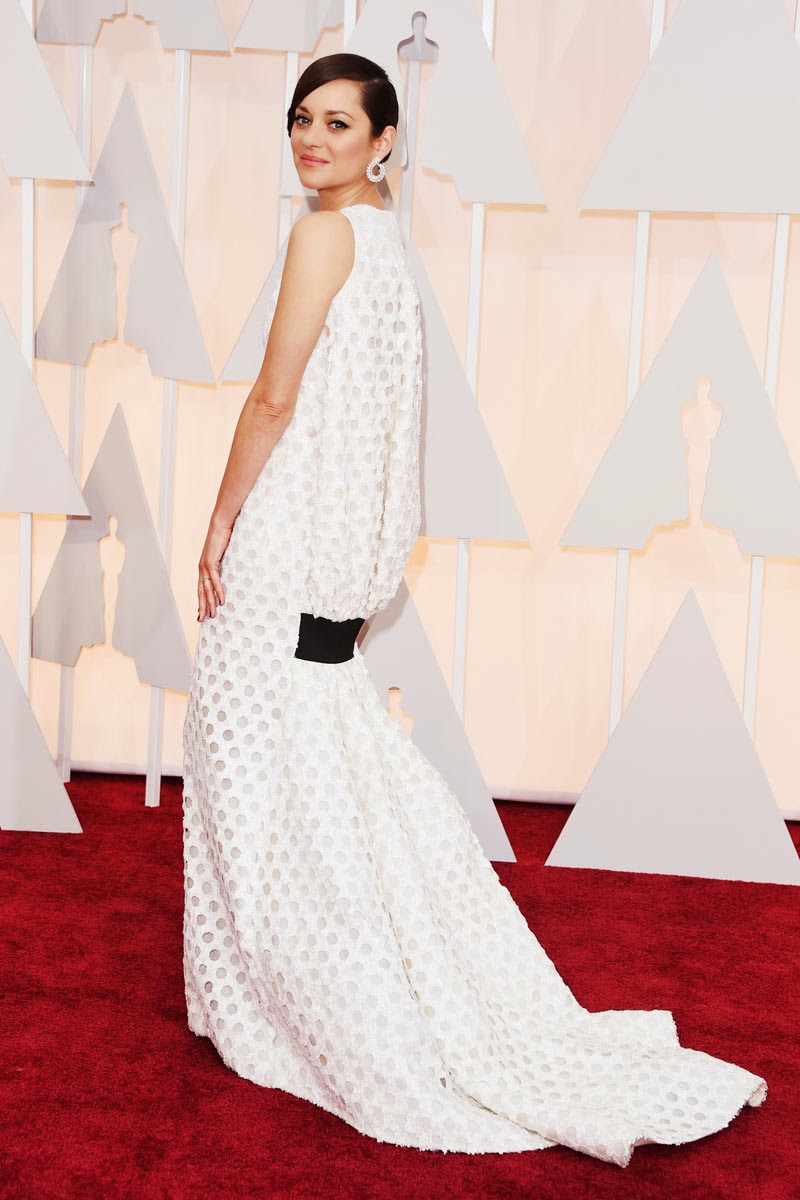 Oscars 2015 the best dresses #top5 celebs red carpet Marion Cotillard Asesoria de Imagen Personal Shopper beauty jewels