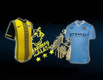 video gol keputusan malaysia manchester city 30 julai 2012