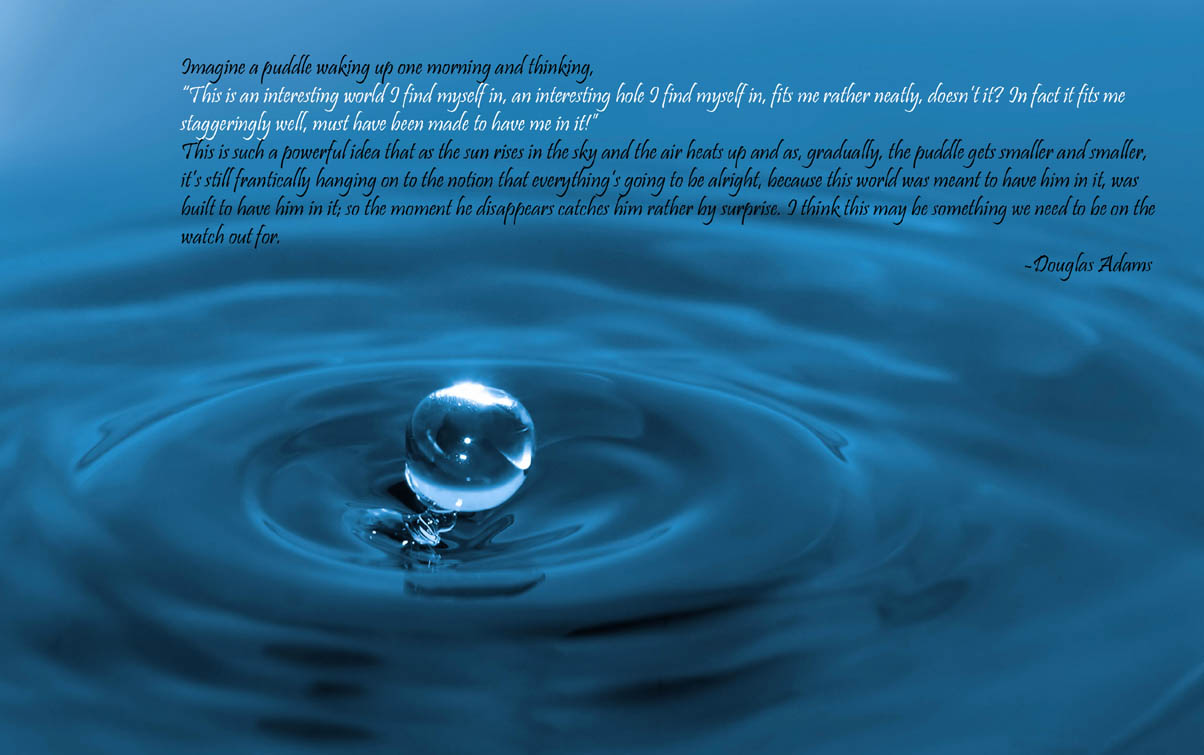 free wallpaper dekstop water quotes wallpaper free