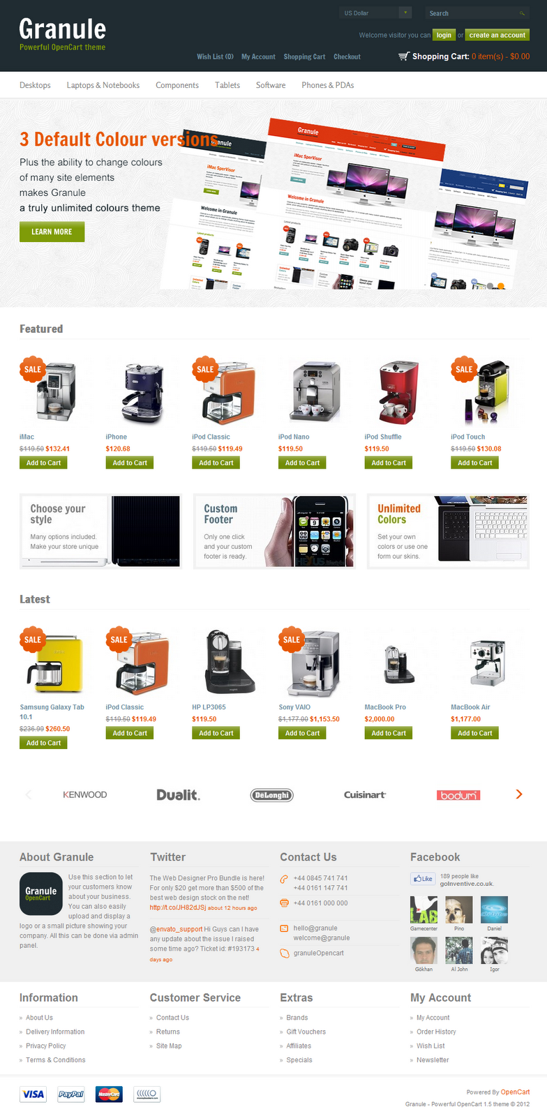 Ecommerce-powerful-OpenCart-theme