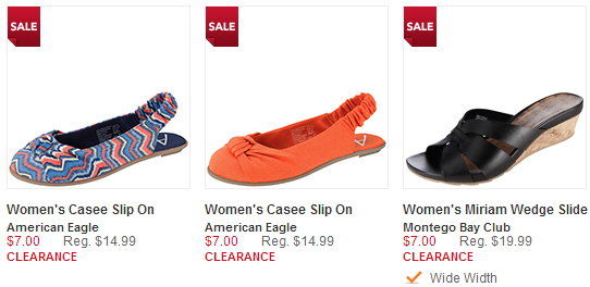 summer shoe clearance at payless