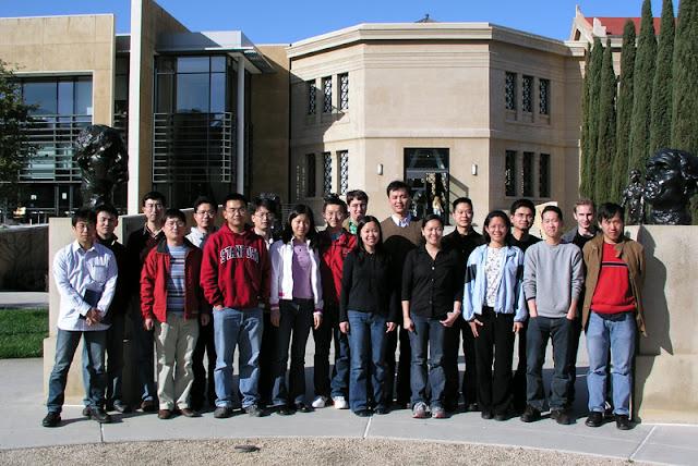 El equipo del laboratorio Dai en Stanford