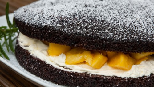 Egg and #DairyFree Chocolate Sponge Cake