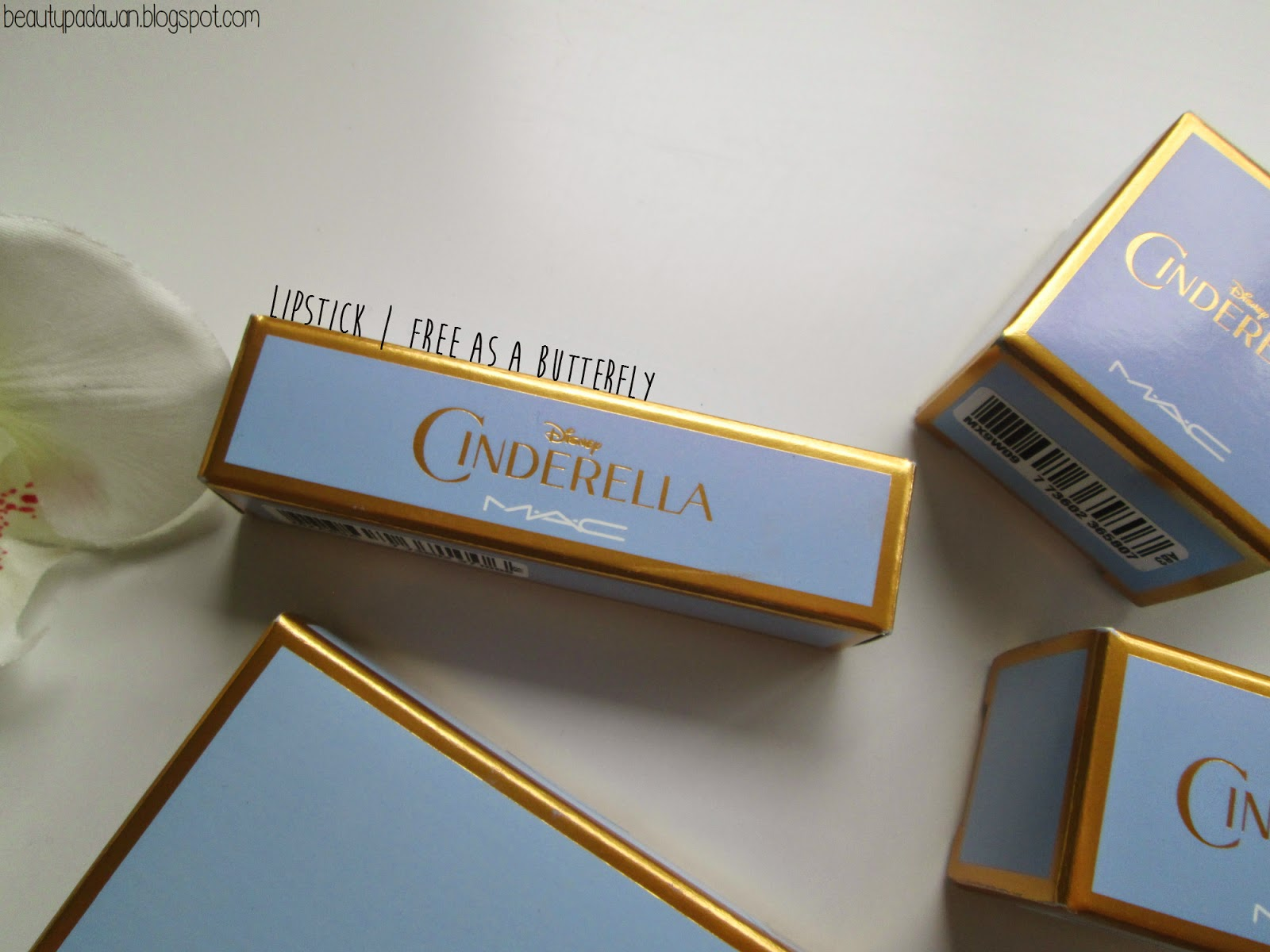 "MAC Cinderella -  ""Free As A Butterfly"" lipstick"