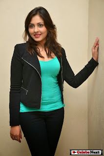 Actress Madhu Shalini Latest Pictures in Jeans at Citizen Telugu Movie Audio Launch  0013.jpg