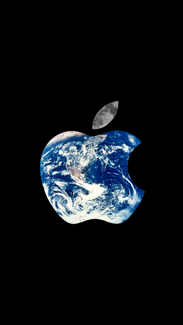 Apple iPhone 5 Logo Free HD Wallpaper