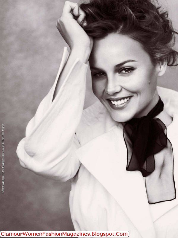 Abbie Cornish At The Top Of Instyle Uk Magazine July 2011