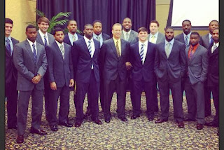 Southern Miss Coach Todd Monken Buys Graduating Seniors Suits