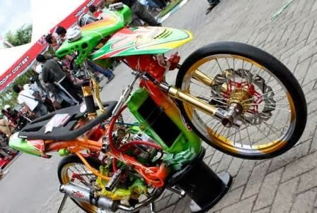 Tips Modifikasi Honda Beat Drag Race